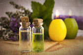 Aroma oil for spa — Stock Photo