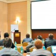 Foto de Stock  : Conference, presentation in aditorium
