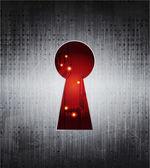 Keyhole — Stock Vector