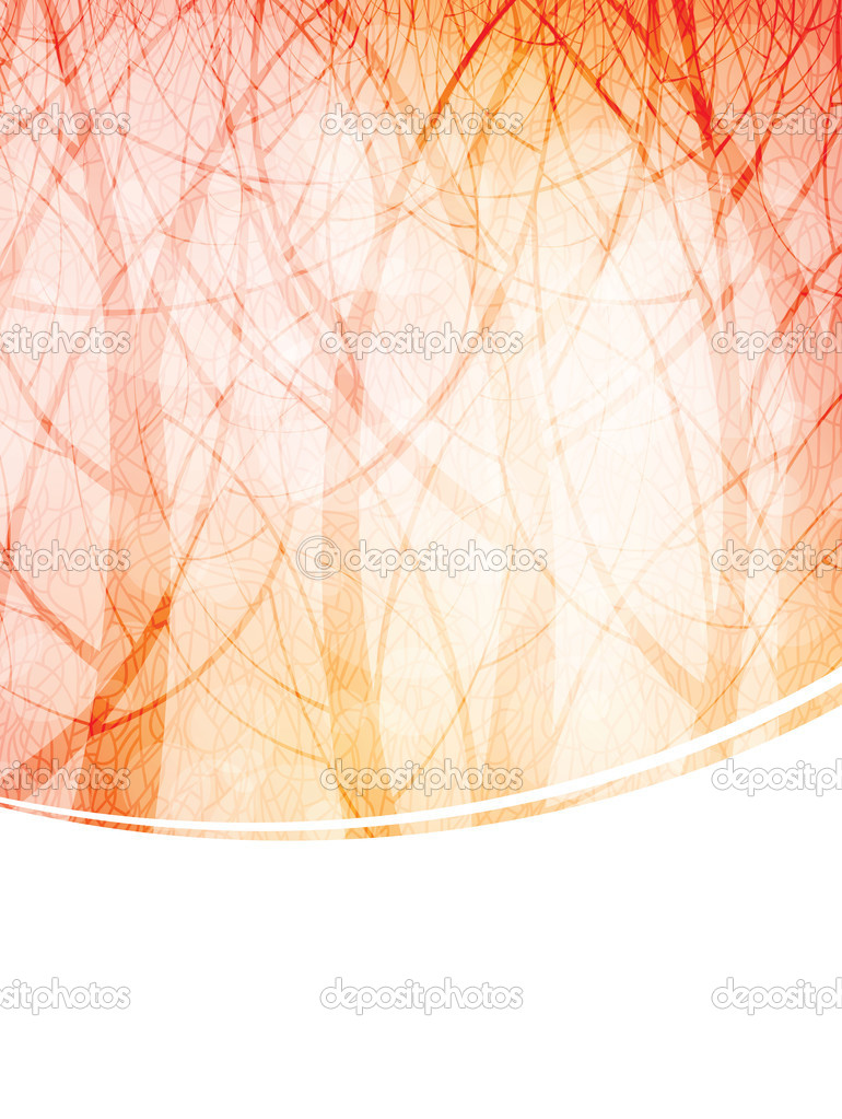 Nature theme background with stylized transparent trees. eps10 vector — Stock Vector #5839830