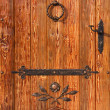Old style wooden door — Stock Photo #5428451