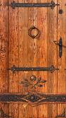 Old style wooden door — Stock Photo