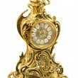 Stock Photo: Bronze antique table clock