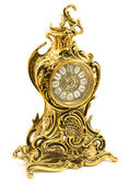 Bronze antique table clock — Stock Photo
