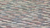 Fragment of soft roofing — Stock Photo