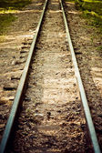The old rails — Stock Photo