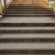 The concrete staircase — Stock Photo