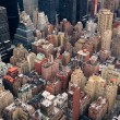 New York City Manhattan street aerial view — Stock Photo #5564847