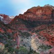 Zion National Park, Utah. — Stock Photo