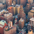 New York City Manhattan skyline aerial view — Stock Photo #5566152