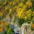 Autumn mountain with winding road — Stock Photo #5566352