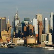 Stock Photo: New York City Times Square skyline