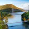 Hudson River valley panorama — Stock Photo #5566590