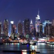 New York City Manhattan skyline panorama — Stock Photo