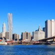 New york city manhattan skyline panorama — Stockfoto