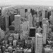 New York City manhattan panorama - Stock Photo