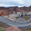 Hoover Dam panorama — Stockfoto