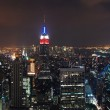 New York City Manhattan skyline panorama — Foto Stock