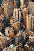 Skyscrapers aerial view — Stock Photo