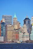 Skyscrapers of New York City Manhattan — Stock Photo