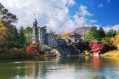 New York City Central Park Belvedere Castle — Stock Photo