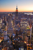 New York City Manhattan empire state building — Stock Photo