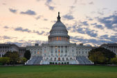 Capitol Hill Building in the morning, Washington DC — Stock Photo