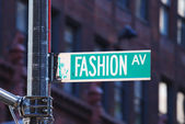New york city mode avenue — Stockfoto