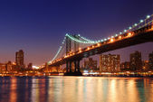 Puente de manhattan — Foto de Stock