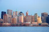HUDSON RIVER new york city — Stock Photo