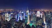 ニューヨーク市マンハッタンのパノラマ — ストック写真