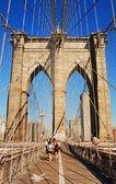 New York City Brooklyn Bridge — Stock Photo