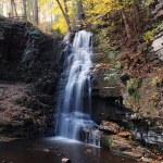 automne chute d'eau en montagne — Photo #5593696