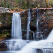 Autumn Waterfall in mountain — Foto de Stock