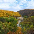 Stock Photo: Delaware Water Gap panoramin Autumn