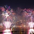 New York City Independence day fireworks — Stock Photo #5593886