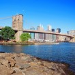 Brooklyn Bridge New York City — Foto Stock