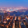 New York City Manhattan skyline panorama — Foto de Stock