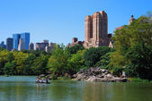 Skyline von new york — Stockfoto