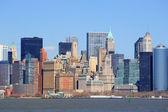 美国纽约市曼哈顿市中心 — 图库照片