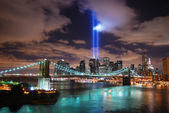 Remember September 11. New York City — Stock Photo