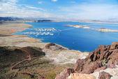 Lake Mead panorama — Stock Photo