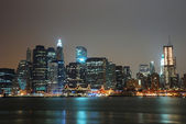 город манхэттен, нью-йорк сити — Стоковое фото