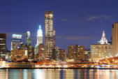 現代のニューヨーク市のスカイライン — ストック写真