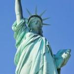 Statue of Liberty closeup in New York City Manhattan — Stock Photo