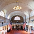 Stock Photo: New York City Ellis Island Great Hall