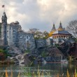 Stock Photo: New York City Central Park Belvedere Castle