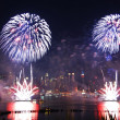 New York City fireworks — Stock Photo #6084040