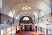 New York City Ellis Island Great Hall — Stock Photo