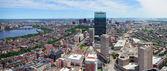 Boston panorama — Stock Photo